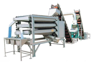Combined Sieving Machine for Peanut Kernels