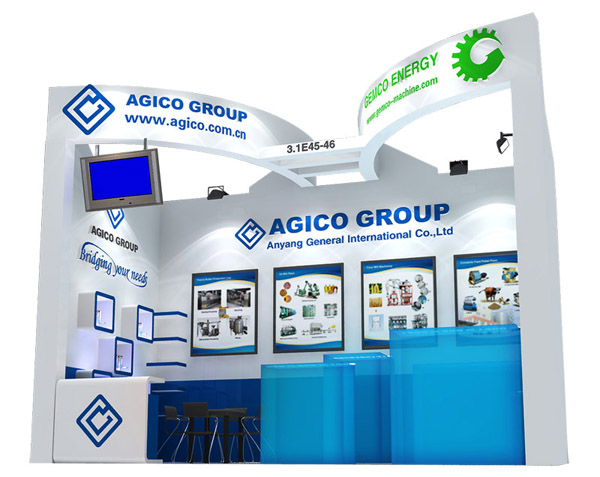 Booth of the 113th Canton Fair of AGICO